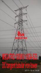 Megatro 1000kv 10ga-SZ4 DC Structure en acier tubulaire de suspension