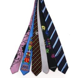 البيع الساخن للشعارتم المخصص للحرير بالشعار أو ربطة العنق الرسمية في البوليستر