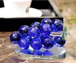 Crystal de raisin de l'artisanat de Verre pour la maison ou la décoration de voiture