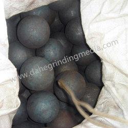 Medios de molienda/forjado forja/Laminado en Caliente/bola de acero de laminación en caliente para el molino de bolas en las minas de metal