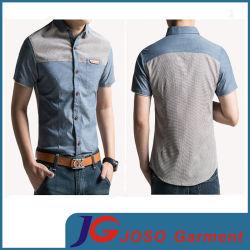 Новейшие разработки бизнес-повседневный Хлопок рубашки для мужчин (JS9029M)
