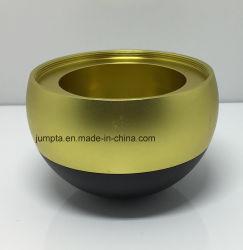 CNC обработки деталей индивидуальные высококачественный медный круглый из нержавеющей стали при свечах в ремесленном производстве Sandblasted анодированного алюминиевого сплава чашечки ремесла