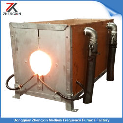 De hete Verwarmer van de Inductie van de Oven van het Smeedstuk voor Toestel/Rol/Staaf/Buis (100kw)