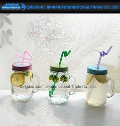 350ml Klarglas Mason Cup für Sommer-Ice Tea