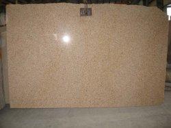 De populaire Opgepoetste Plak van het Graniet van de Steen van de Zonsondergang Gouden/Nevelige/Gele Roestige G682