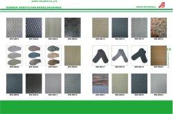 Hoja dura textura Neolite lámina de goma para Material Exclusivo patín