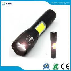 Из алюминиевого сплава початков Свет фонарика мини-Zoom светодиодный фонарик универсальный фонарик