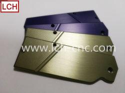 CNC-Fräsbearbeitung kundenspezifischer, Hochwertiger Eloxierter Aluminium-Messergriff für Küche/Outdoor/Kochen