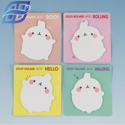 Office and School Supplies Die-Cut Sticky Note Memo Pad