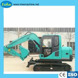 excavatrice chenillée de haute qualité Construction Modèle de machine 80