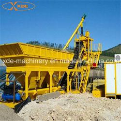 Mistura de cimento 35 metros cúbicos por hora Mobile Misturador de cimento máquina de mistura de betão para a construção do prédio