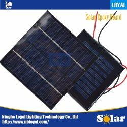 Лояльность эпоксидной солнечные панели мини-солнечных батарей Polycrystalline кремния DIY модуля заряда аккумулятора