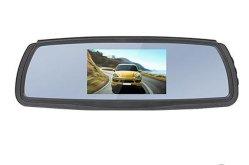 Espejo de 4,3 pulgadas Monitor retrovisor coche