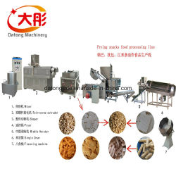 Жинан Датун полностью автоматическая штампованного пшеницы жареные 3D Пелле Bugles хрустящие чипсы закуска бумагоделательной машины переработки пищевых продуктов