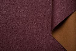 Vegetabled загорелой кожи и хорошее качество сиденье провод фиолетового цвета кожи