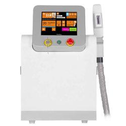 Cer-entscheiden FDA-gebilligte bewegliche Schönheits-Gerät E helle HF Shr Achtern-IPLhaar-Abbau-Haut-Sorgfalt-Maschine
