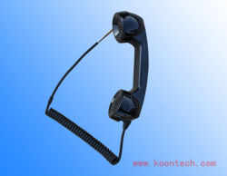 Kiontech Curl 緊急電話 T3 のケーブルハンドセット