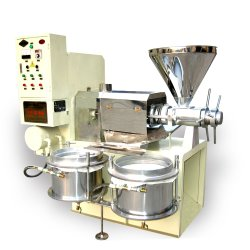 ヒマワリの大豆の綿実オイルの抽出機械プラント