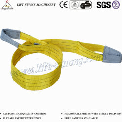 En1492 3T 밧줄 연결 및 인양용 폴리에스테르 웨빙 인양 슬링
