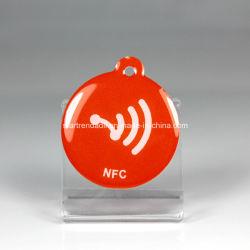 طباعة CMYK بطاقة RFID مخصصة، علامة، جهاز فتح الأبواب عن بُعد، شريط المعصم، ملصق، تذكرة، عينات مجانية من Lanyard