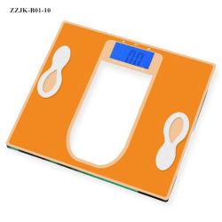 Escala de la grasa Noctilucent Báscula de baño digital electrónica