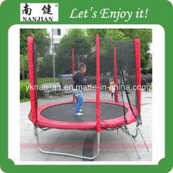 حديقة ترامبولين ذات 10 أقدام رخيصة وحاوية أمان للأطفال لعبة