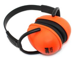 セリウムとの方法Orange Design Safety ABS Earmuff
