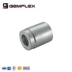 Manchon pour SAE 100 03310 R2AT/fr 853 2sn ferrule avec raccord hydraulique en acier au carbone