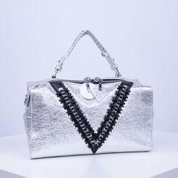 Form modischer PU-Frauen-Handtaschen-Boston-Beutel in China Sh645