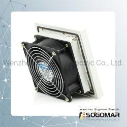 Panel-Ventilator 120X120mm mit dem 9803 Plastikfilter und Metallschutz