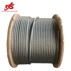 De gegalvaniseerde Kabel van de Draad van het Staal 6X19 DIN Engels GB