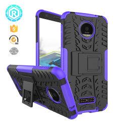 El TPU clara cubierta teléfono teléfono caso con la protección de cuatro esquinas para el iPhone Moto fuerza Z.