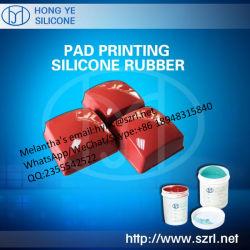 Caoutchouc de silicone RTV 2 pour la tampographie