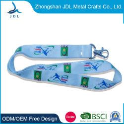 Vendita all'ingrosso a basso prezzo di colore personalizzato sublimazione stampati con marchio cordini Nessun minimo Ordine (025)