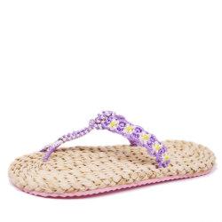 De Wipschakelaar EVA Outsole Toevallige Dame Shoe van de Hennep van de aard