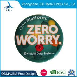 Los productos promocionales insignia Botón LED personalizados con el pasador de seguridad de la moda barato botón personalizado insignia de estaño (62)