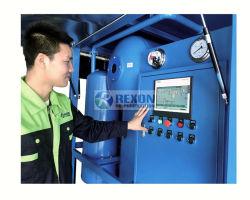 Vacuum elaborare la macchina dielettrica di depurazione di olio asciugano e degassano da olio