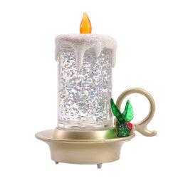 新しい形の蝋燭カラー変更水地球電気LEDの蝋燭ライト
