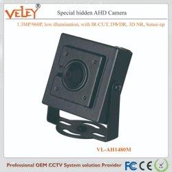 فتحة عدسة مقاس 3,7 مم مزودة بكاميرا صغيرة معدنية للأمان كاميرا CCTV