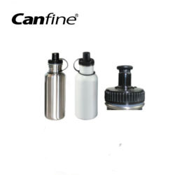 La sublimation Portable 600ml Bouteille d'eau en acier inoxydable avec couvercle