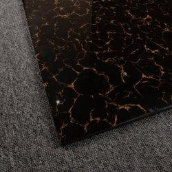 حجم [إيتلين] كبير يصقل خزي قرميد فائقة لامعة أسود [أرشيزد] خزي قرميد [600إكس600مّ]