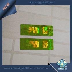 Rendere ad ologramma verde gli autoadesivi rotondi per i prodotti protettivi
