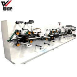 새로운 기계, 세륨 증명서를 가진 여자 위생 패드 기계 공장