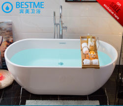 فوشان بيستمي مزود ببانيو ساخن دائم مجاني أكريليك ODM OEM Easy حوض استحمام نظيف أبيض سهل التركيب Art (BT-Y2589)