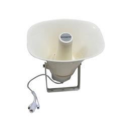 Sistema PA utilização exterior à prova de IP66 Altifalante de corneta activa