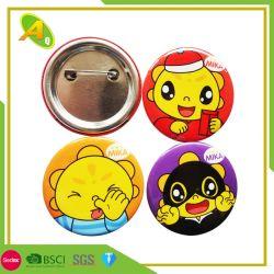 Cheap Logo personnalisé métal forme de coeur de l'étain magnétiques vierges Botton Maker 37/58mm en plastique de gros chat Glitter LED Snap bouton Pin d'un insigne (24)