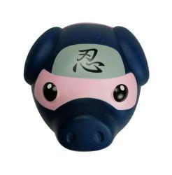 Comercio al por mayor forma de cerdo lindo Plástico de PVC dinero Piggy Bank para niños