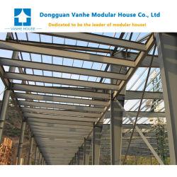 Structure en acier léger préfabriqués entrepôt préfabriqué Atelier modulaire mobile