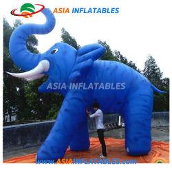 巨大で膨脹可能な象の気球、膨脹可能な動物モデル