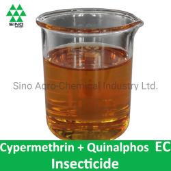Cipermetrina 30g/L + Quinalphos 200g/L ce de insecticida y acaricida de plaguicidas